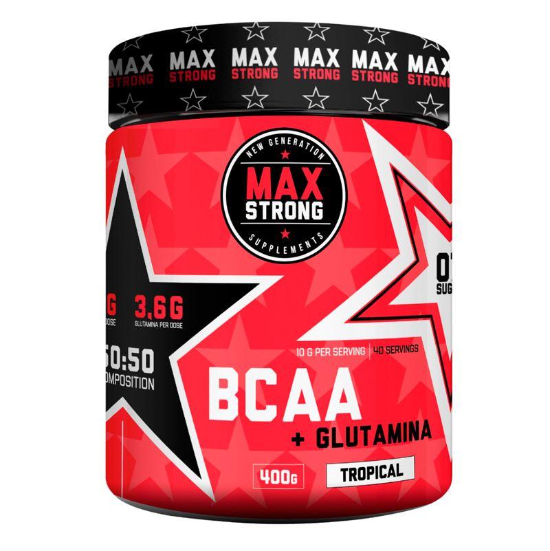 BCAA + GLUTAMINA MAX